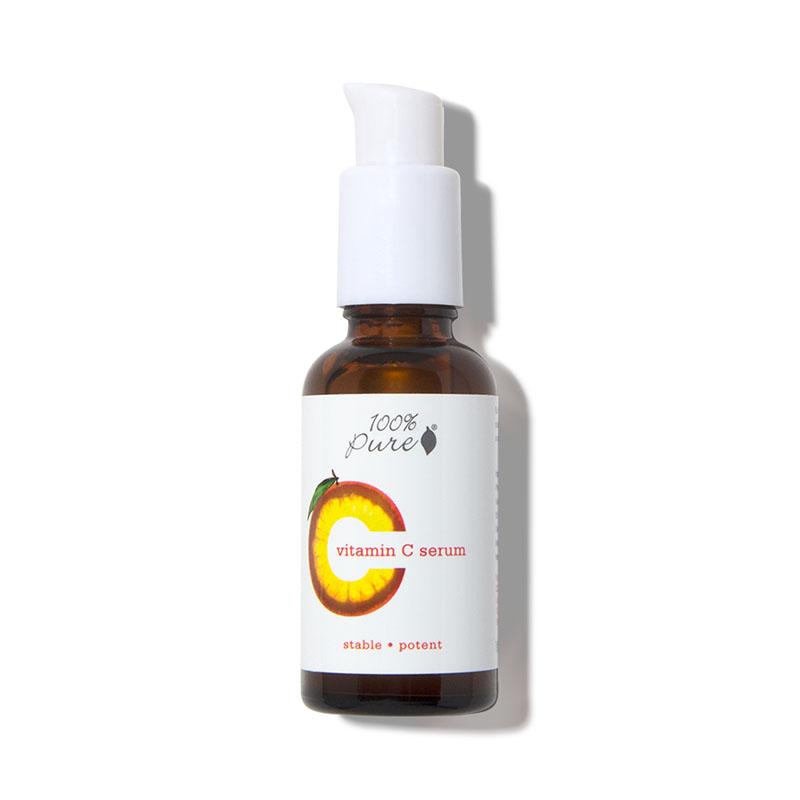 100 pure vitamin c serum