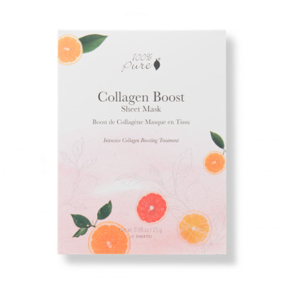 100pure-Collagen-Boost-Mask-5-Pack
